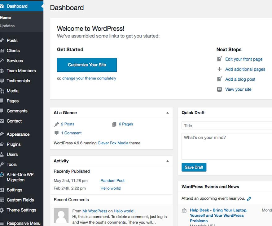 Wordpress Service Featured Image